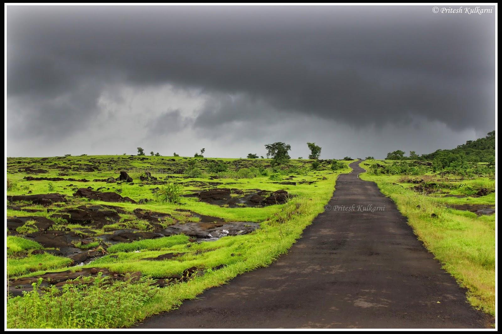 Road in Konkan, Raigad
