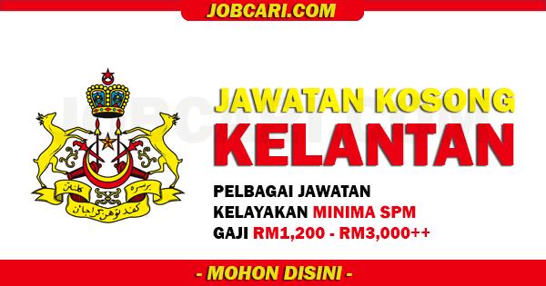 Info Jawatan Terbaru di Kelantan