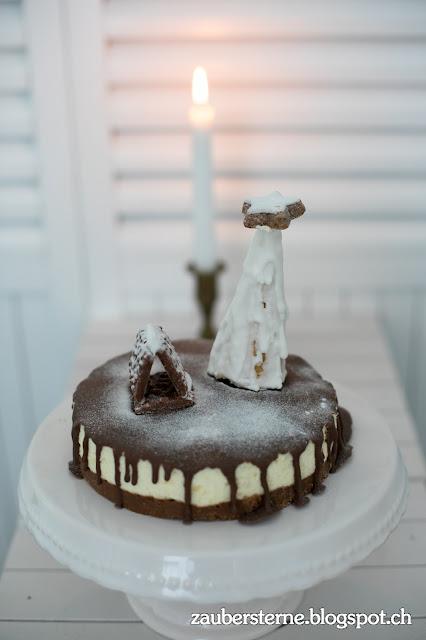 Vanille Quarktorte, Torte Kinderschokolade, Blog Schweiz, Foodblog Schweiz, Weihnachtsdessert