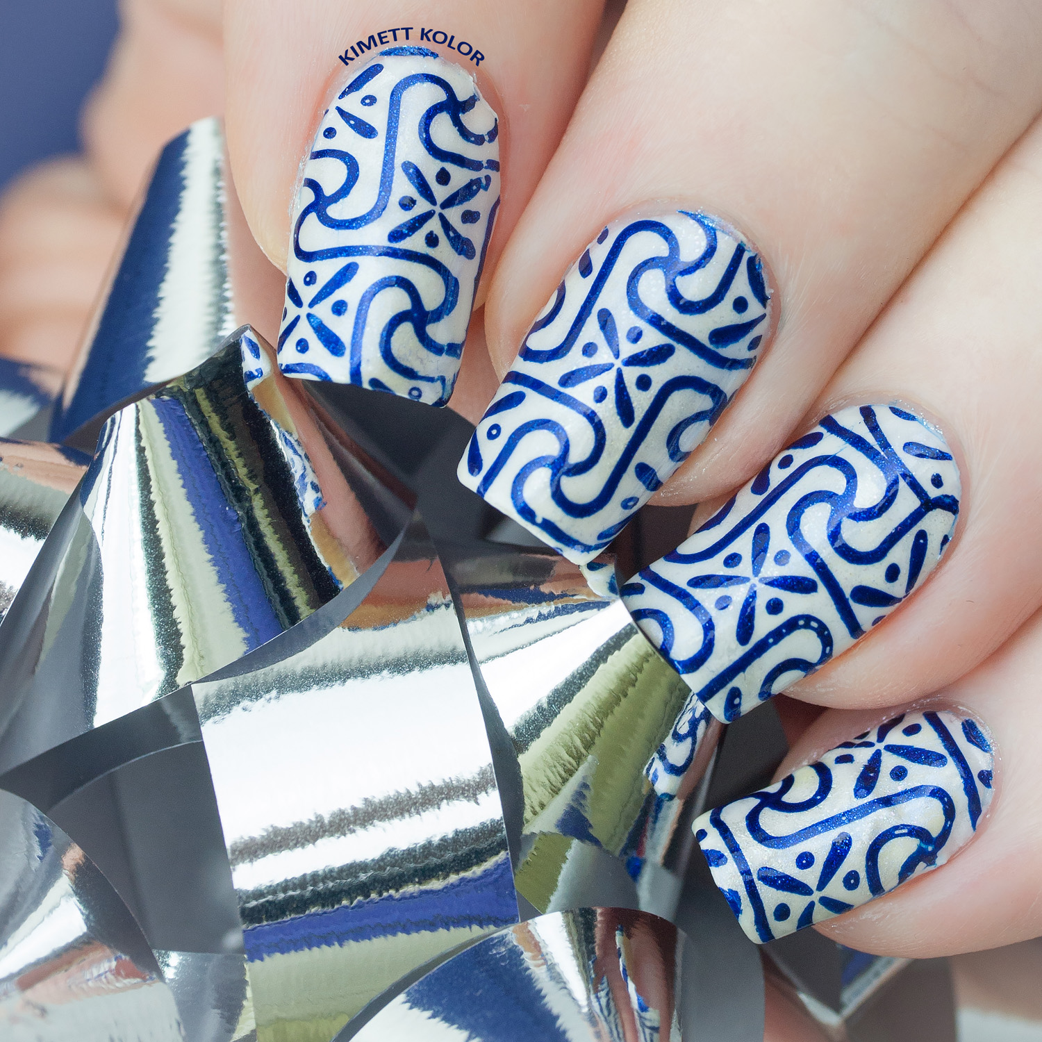 KimettKolor Wrapping Paper Nails