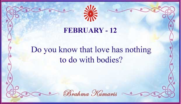Thought For The Day February 12