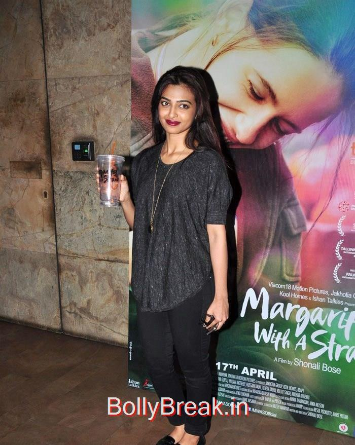 Radhika Apte, Kalki Koechlin , Aditi Rao Hydari HOt Pics From 'Margarita, With A Straw' Special Screening