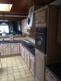 renovatie eiken keuken