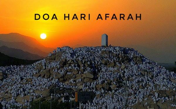 Doa Hari Arafah Antara Waktu Doa Mustajab
