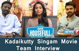 Kadaikutty Singam Movie Team Interview | Director Pandiraj | Karthi | Arthana Binu | News 7 Tamil