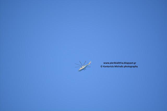 Τώρα ελικόπτερα πετούν στον ουρανό της Κατερίνης. Τι ελικόπτερα είναι και που πάνε;