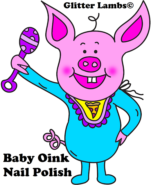 Baby Oink Cartoon Pig Clipart Piggy