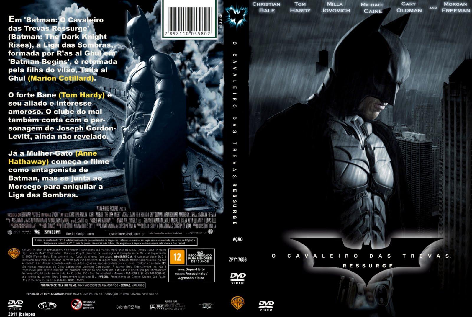 BAIXAR RMVB TREVAS BATMAN CAVALEIRO EM FILME O DAS
