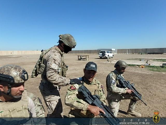 """Despliegue de la Fuerza de Guerra Naval Especial en la Operación """"Apoyo a Irak"""""""