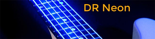 Cuerdas Neón DR para Guitarra y Bajo