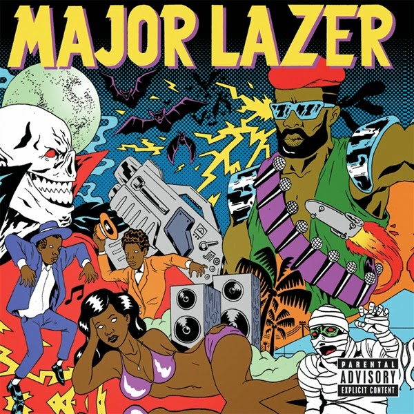Major Lazer - Guns Don't Kill People...Lazers Do (Deluxe Edition) Cover