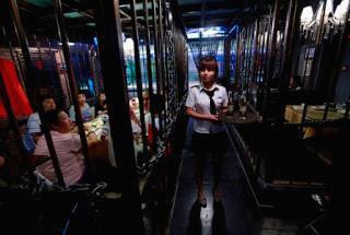 """Restaurant """"Devil Island Prison"""" China"""