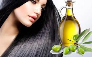 cara mengatasi rambut kering dengan minyak zaitun