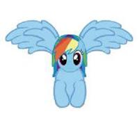 My Little Pony Rainbow Dash Fidget Spinner Fidget Its