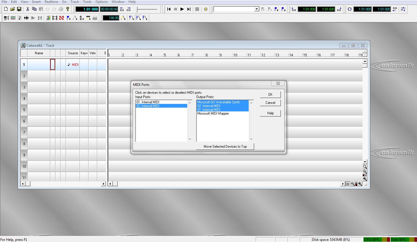 Mengkoneksikan  Cakewalk Pro Audio 9 Dengan Reaper Dan Battery 3