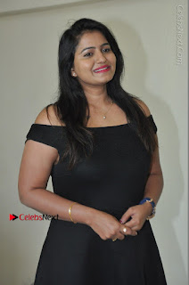 Telugu Actress Swathi Reddy Latest Stills in Black Gown  0015.JPG