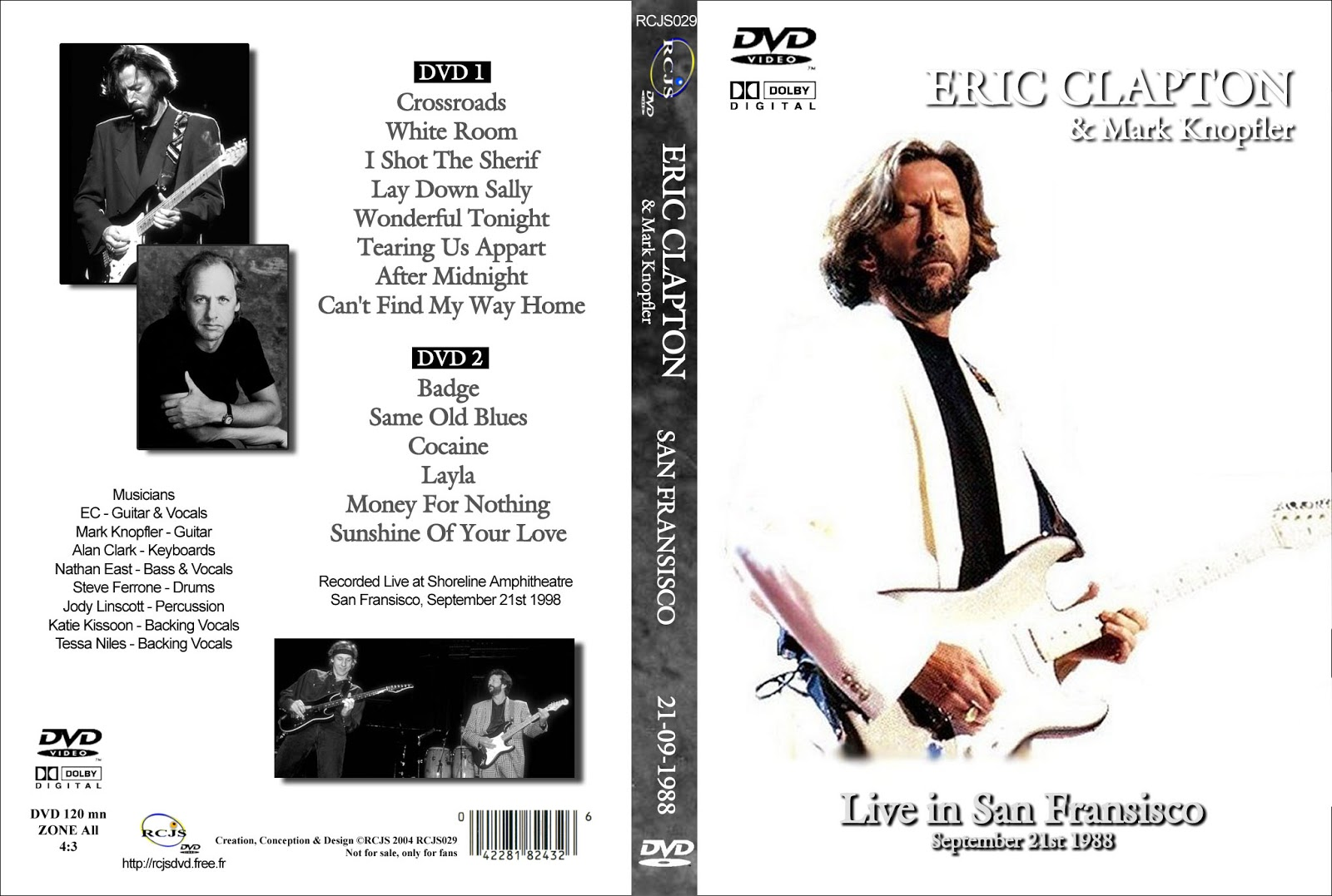 new eric clapton quot can t find my way home quot guitar tab eric clapton on tour with knopfler shoreline 508