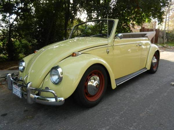 Custom Restoration, 1967 VW Bug Convertible