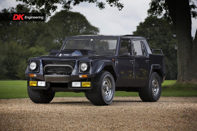 1988 Lamborghini LM 002 for sale at DK Engineering - #Lamborghini #classic_car #truck #for_sale