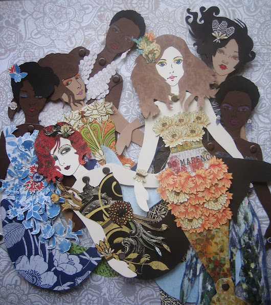 Finally, New Paper Dolls for my Etsy Shop!