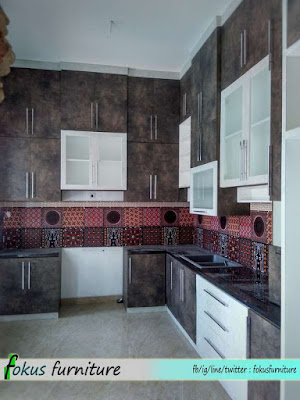 Kitchen set Cibubur kota wisata