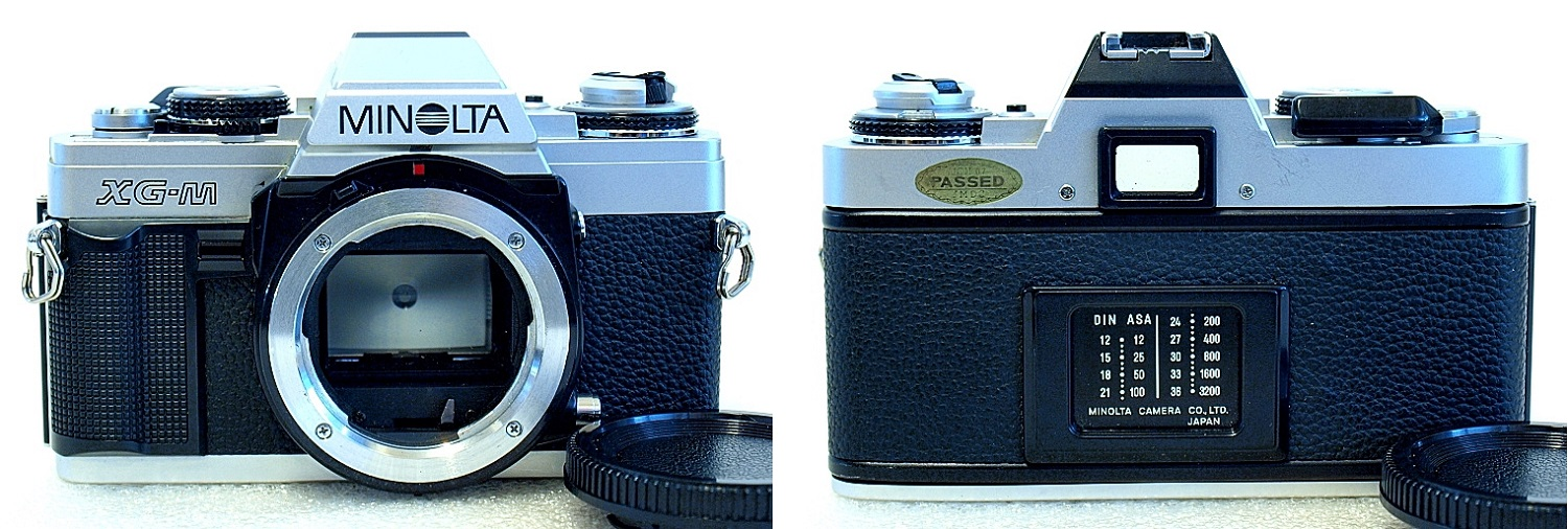 Minolta XG-M (Chrome) Body #989