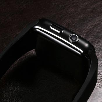PTron Rhythm Curved Bluetooth Smart Watch camera lens