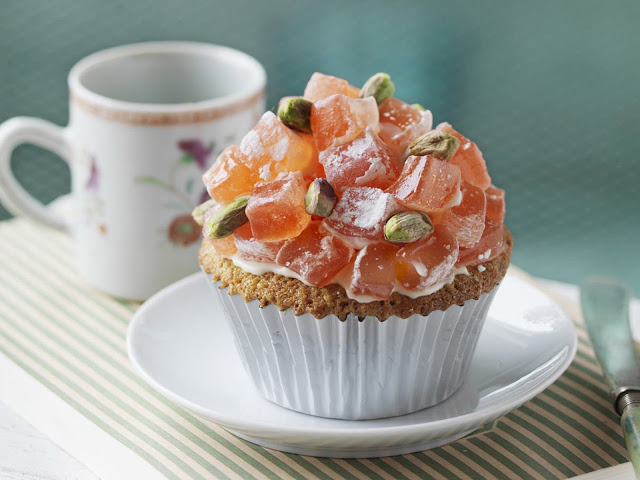 these Turkish delight cupcakes are an exquisite treat to make for an afternoon tea party Turkish delight cupcakes recipe