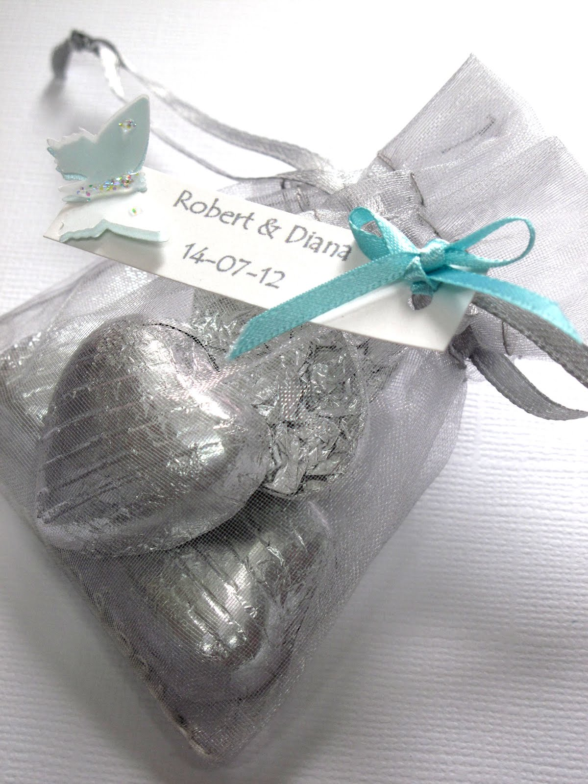 Erfly Themed Wedding Favours