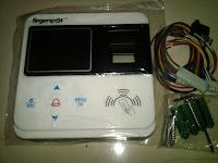 Mesin Akses Kontrol Sidik Jari dan Smart Card Fingerspot