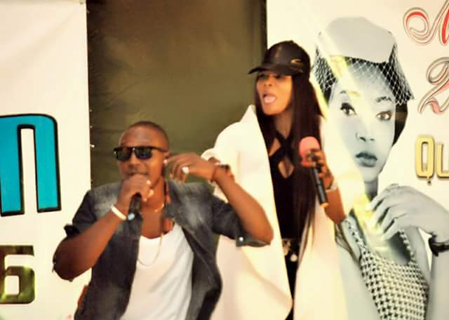 See Photos Of Sharon Sonia And Landy Performing Live At Miss Kogi Beauty Pageant Show In Lokoja.