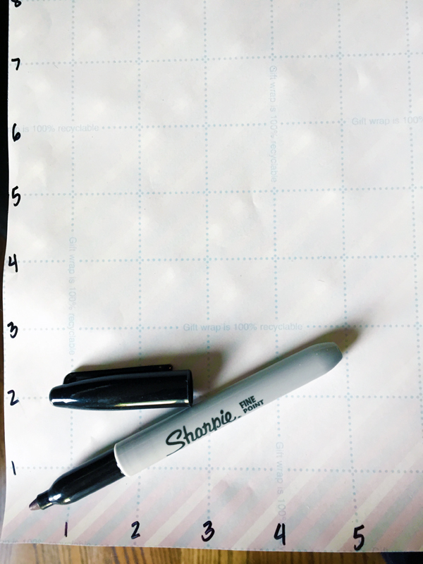 DIY drawer organizing grid