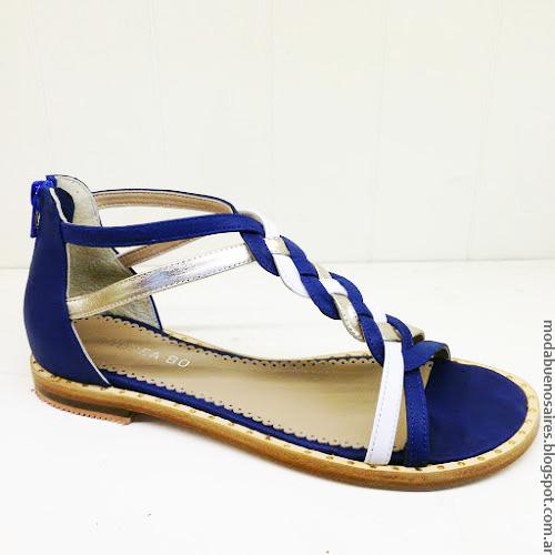 Moda primavera verano 2017 sandalias. Moda verano 2017 sandalias y zapatos Andrea Bo.
