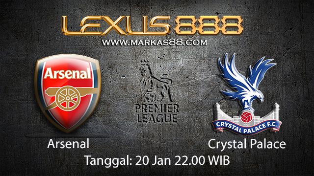 PREDIKSIBOLA - PREDIKSI TARUHAN BOLA ARSENAL VS CRYSTAL PALACE 20 JANUARI 2018 ( ENGLISH PREMIER LEAGUE )