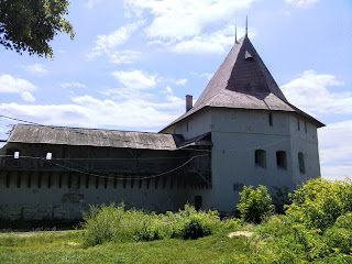 Галич. Замковая гора. Старостинский замок XIV в.