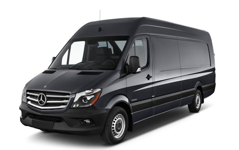 2017 Mercedes-Benz 3500xd High Roof V6 4wd Cargo Van