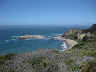 Coastal view near Davenport, California