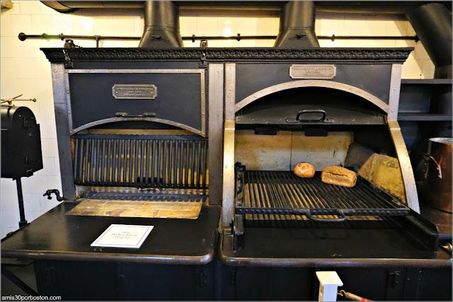 Cocina de la Mansión The Breakers, Newport