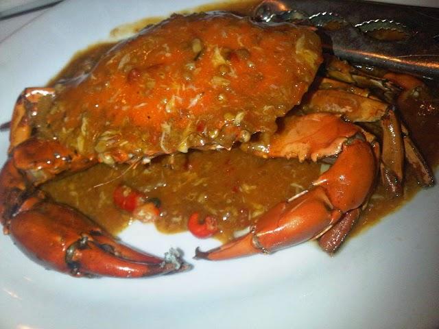 wisata kuliner makassar - kepiting apong