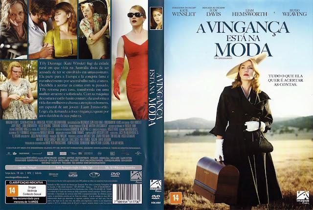 Capa DVD A Vingança Está na Moda