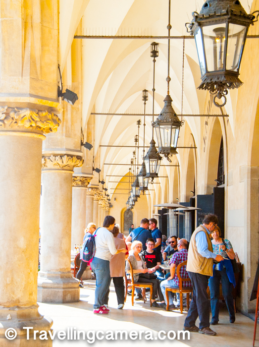 Towards the outer side of the cloth hall, there are some museums and art galleries. Apart from that one could find some interesting places to eat and enjoy the meal with brilliant surroundings.   More from European Diaries...