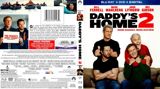 Daddy's Home 2 Bluray / DVD Cover