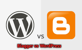 blogger vs Wordpress