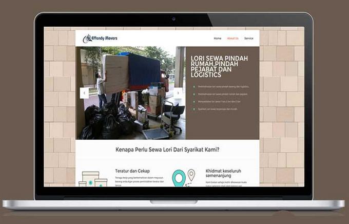 Bina laman web perniagaan profesional dan mesra SEO