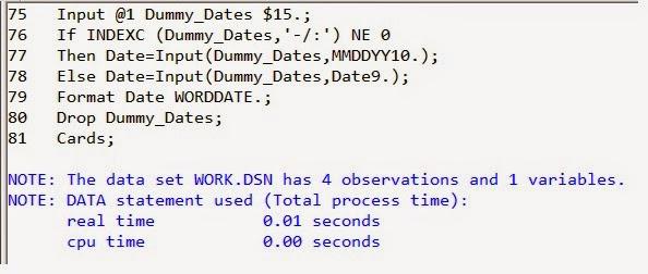 SASCERTGURU: How To Read Different Formats Of Dates In SAS