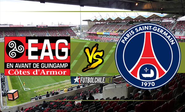 Guingamp vs París Saint-Germain