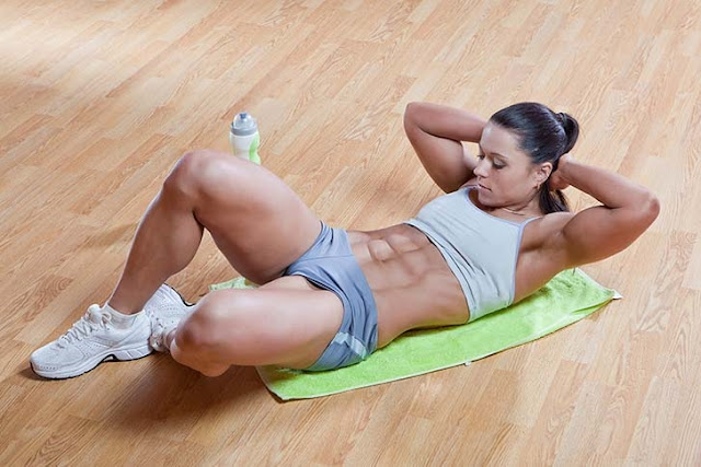 Most Effective Best AB Workouts Butterfly Crunches
