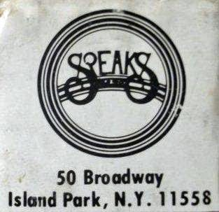 Speaks rock club in Island Park, Long Island, New York