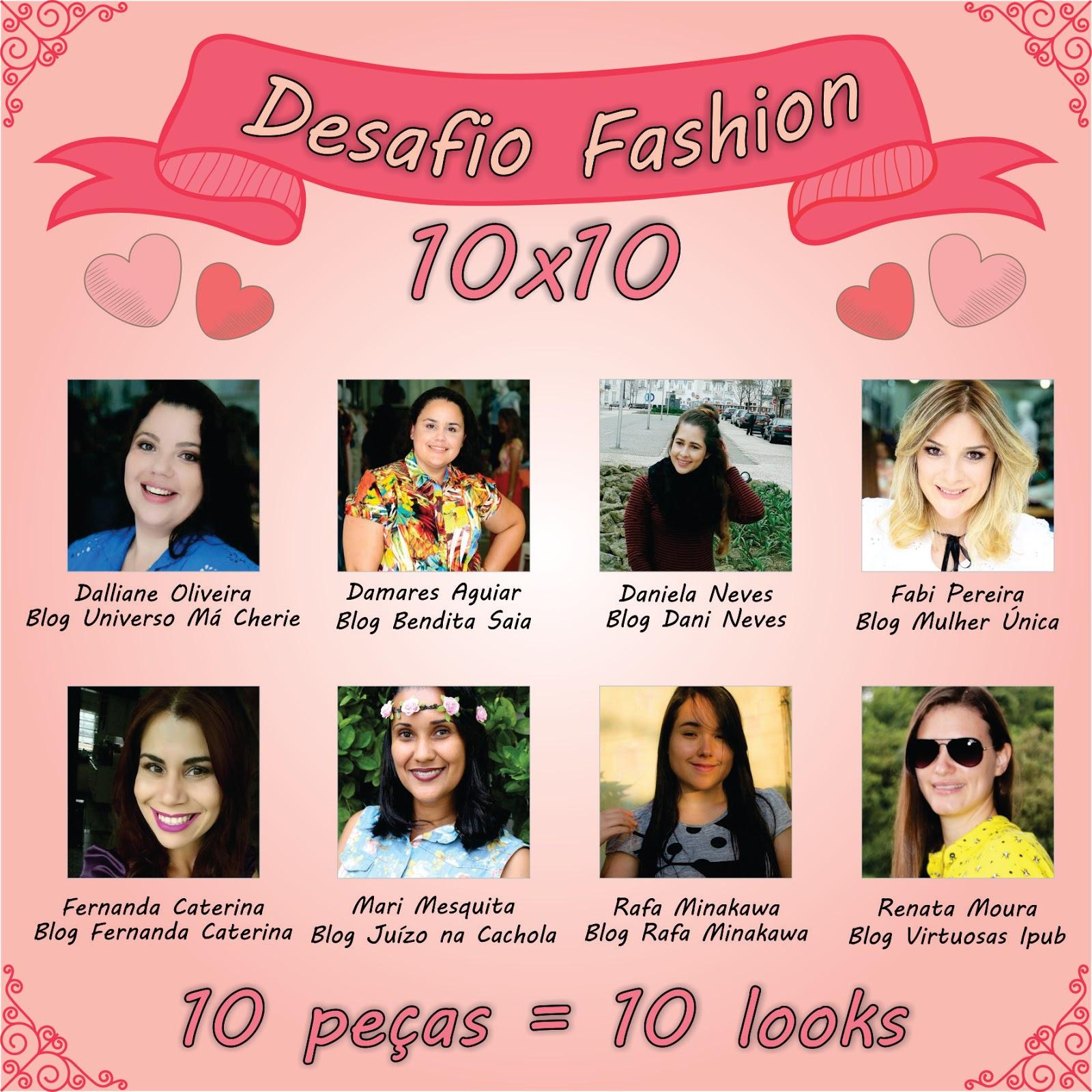 Desafio 10x10 -10 peças 10 looks-blog estilo modas e manias