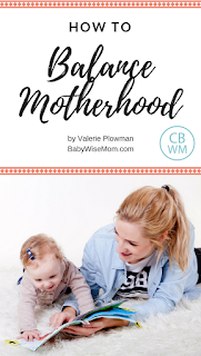 How To Balance Motherhood; 10 tips to make your days easier | #parenting #motherhood